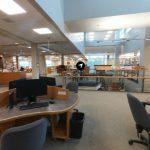 Étage de la bibliothèque