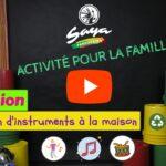 Danse et percussions (5 juillet au 31 août) [en ligne]