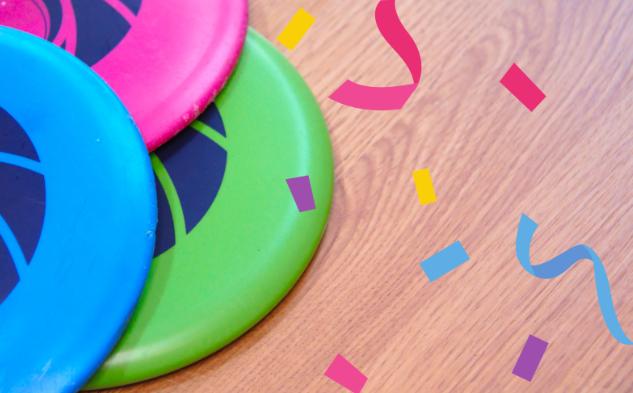 Frisbee en folie